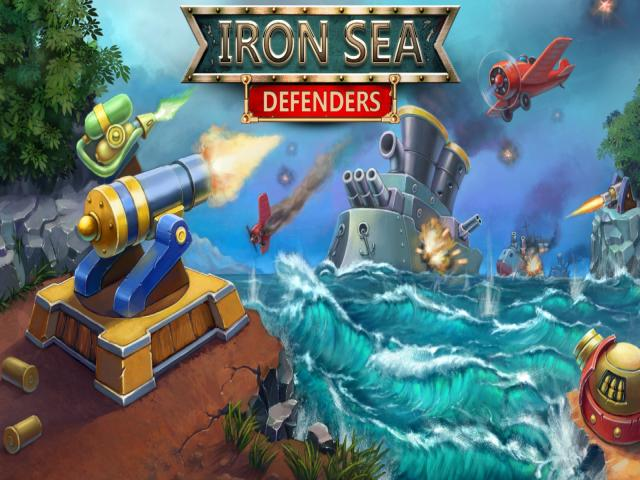 Iron Sea Defenders - title cover