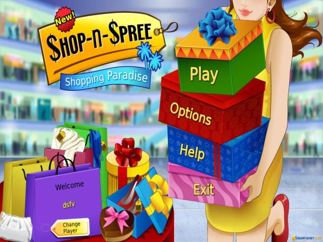 Shop-n-Spree: Shopping Paradise - title cover