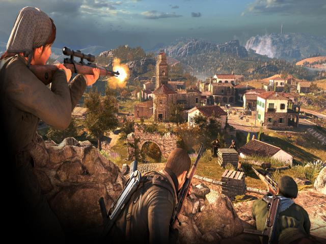 Sniper Elite 4 - title cover