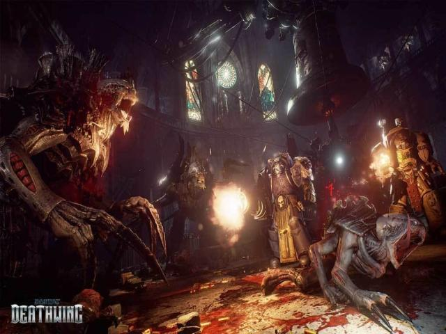 Space Hulk - Deathwing - title cover
