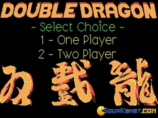 Double Dragon - title cover