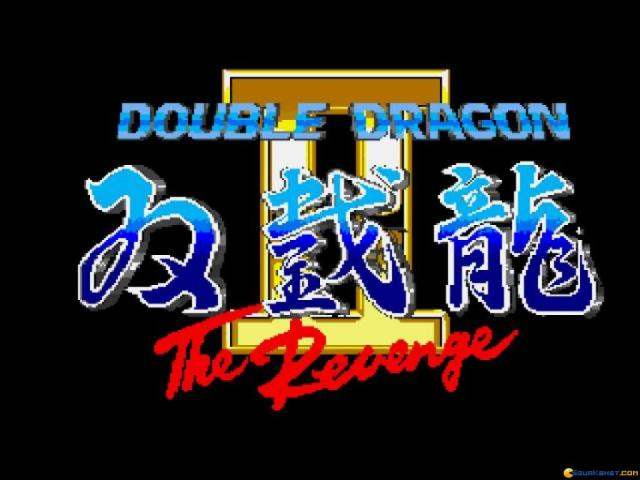 Double Dragon 2 - title cover