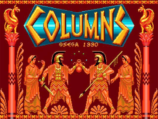 Columns (Sega) - title cover