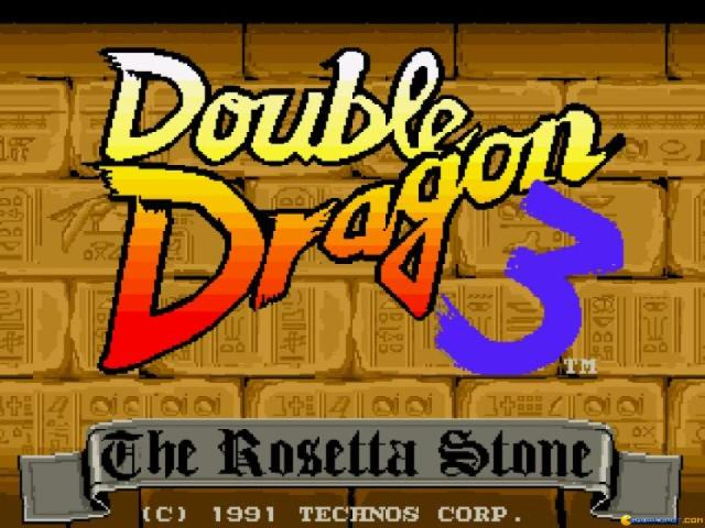 Double Dragon 3 - title cover
