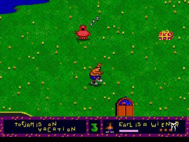 Toejam and Earl - title cover