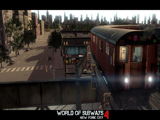 World of Subways 4 - New York Line 7 - title cover
