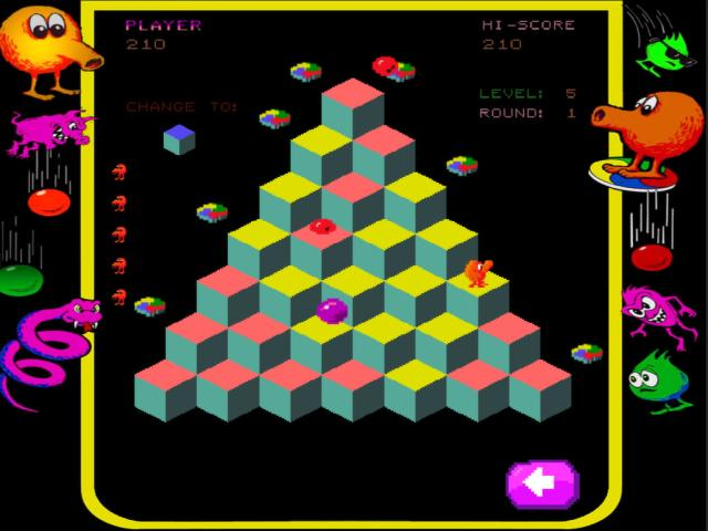Qbert Rebooted - title cover