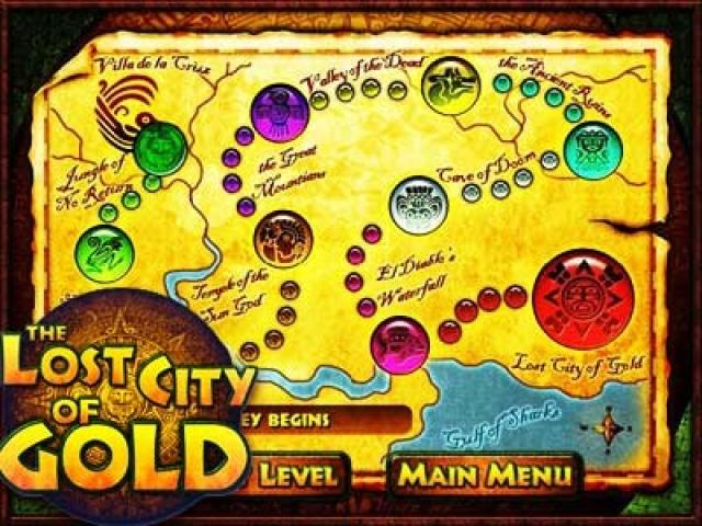 Lost City of Gold - title cover