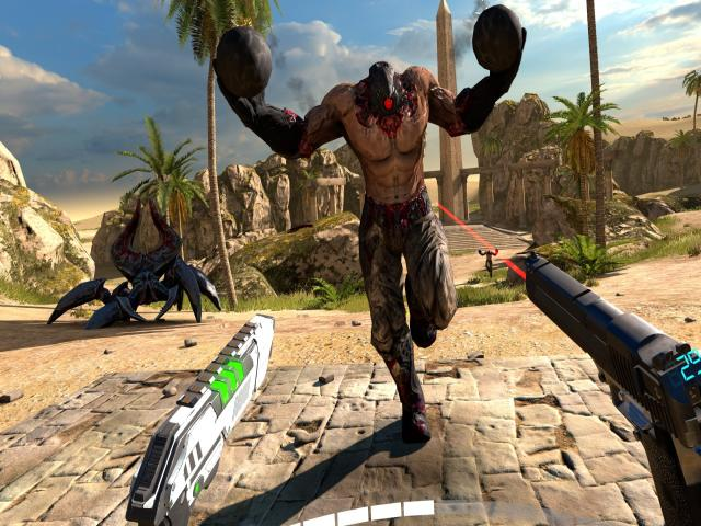 Serious Sam VR: The Last Hope - title cover