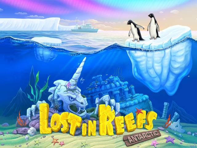 Lost in Reefs: Antarctic - title cover