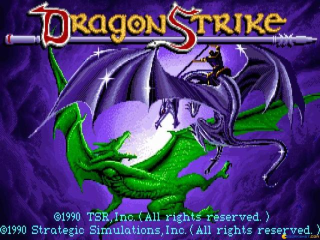 Dragon Strike - game cover