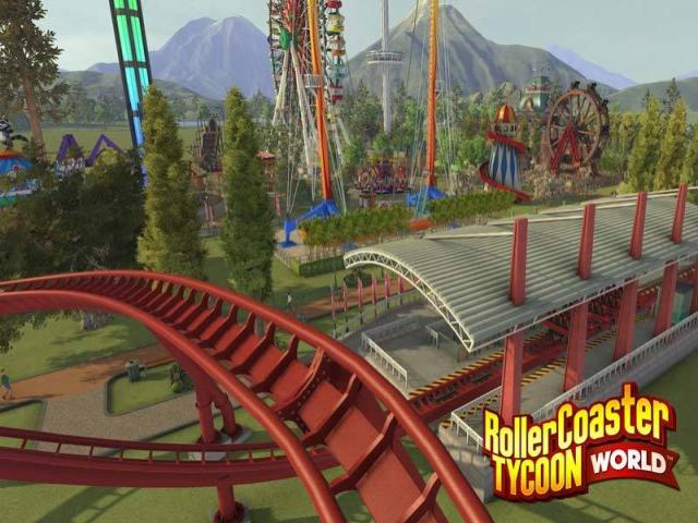 RollerCoaster Tycoon World Deluxe - game cover