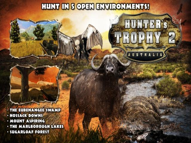 Hunter's Trophy 2 - Australia - title cover