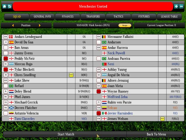Global Soccer Manager - title cover