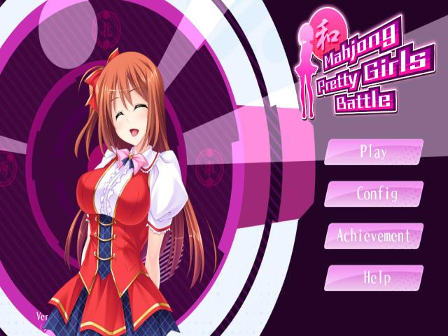 Mahjong Pretty Girls Battle - title cover