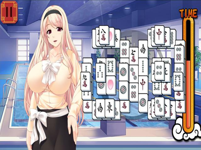 Pretty Girls Mahjong Solitaire - title cover