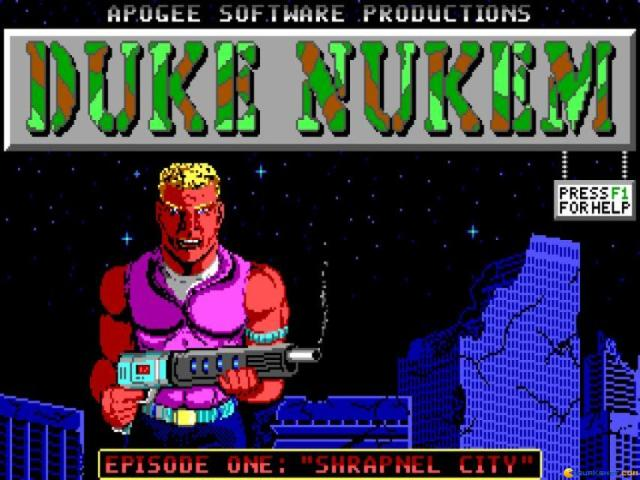 Duke Nukem - title cover