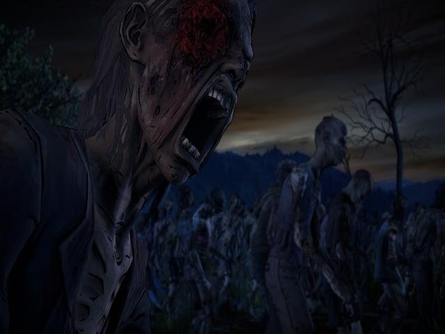 The Walking Dead: A New Frontier - title cover