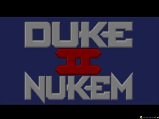 Duke Nukem 2 - title cover