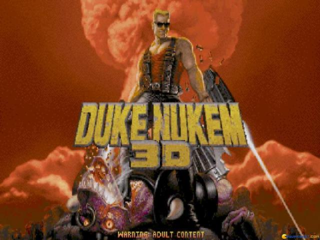 Duke Nukem 3D - game cover