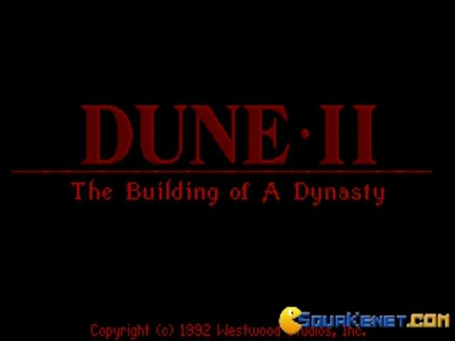 Dune 2 - game cover