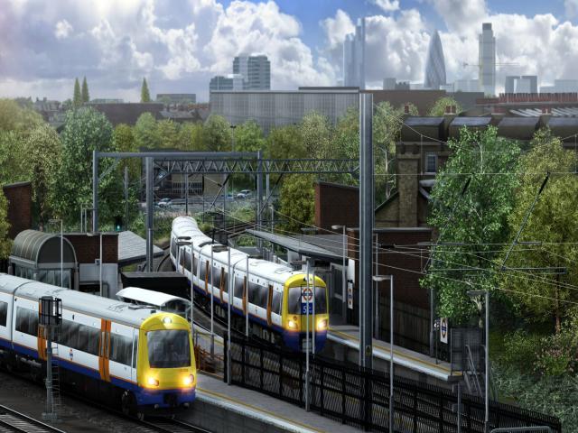 Train Simulator: North London Line Route - game cover