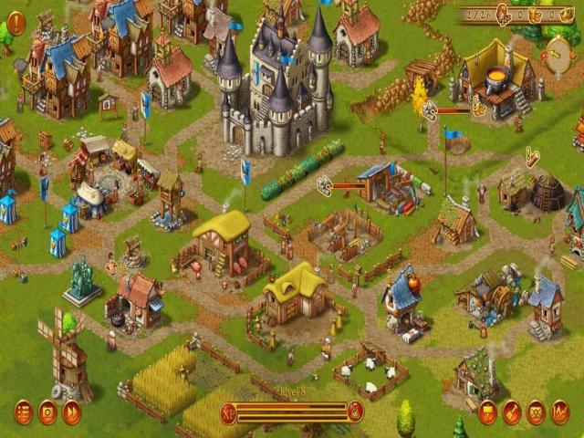 Townsmen - title cover