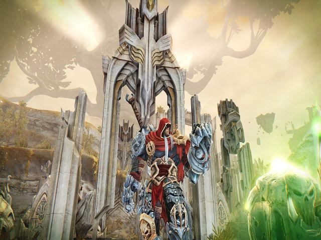 Darksiders Warmastered Edition - game cover