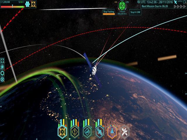 Satellite Command - title cover