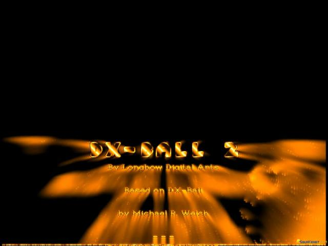 DX Ball 2 - title cover
