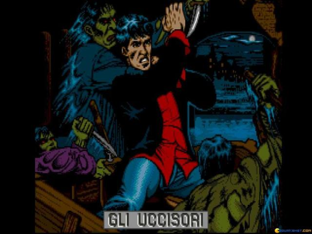 Dylan Dog - gli Uccisori - game cover