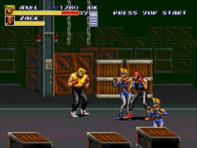 Streets of Rage 3 - title cover