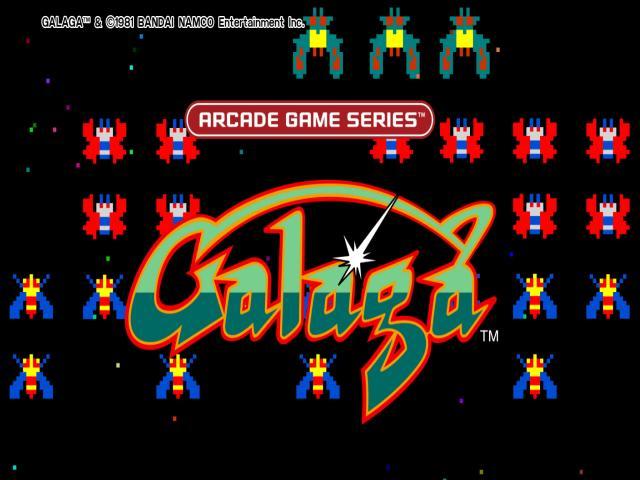 Arcade Game series: Galaga - title cover
