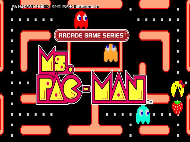 Arcade Game series: MS. Pac-Man - title cover