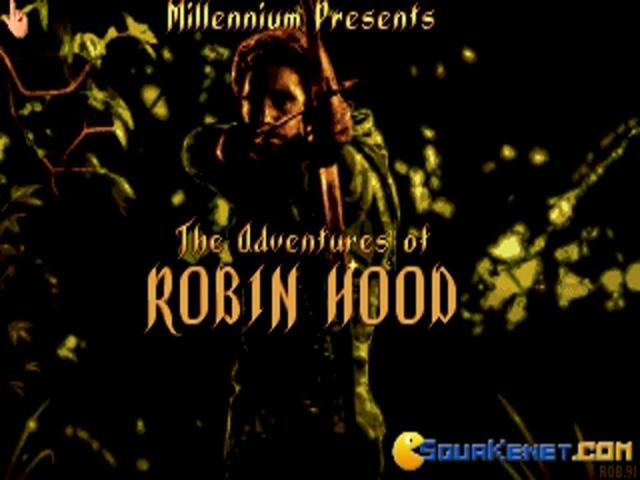 The Adventures of Robin Hood - game cover