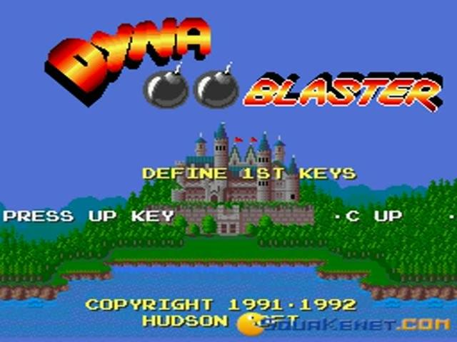 Dyna Blaster - title cover