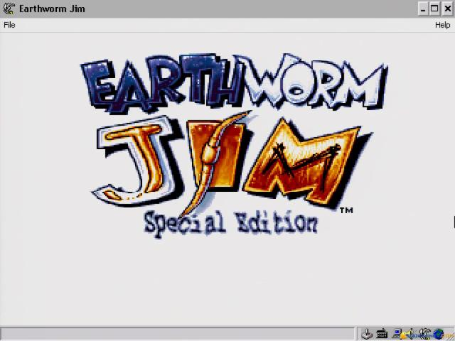 Earthworm Jim: Special Edition - game cover