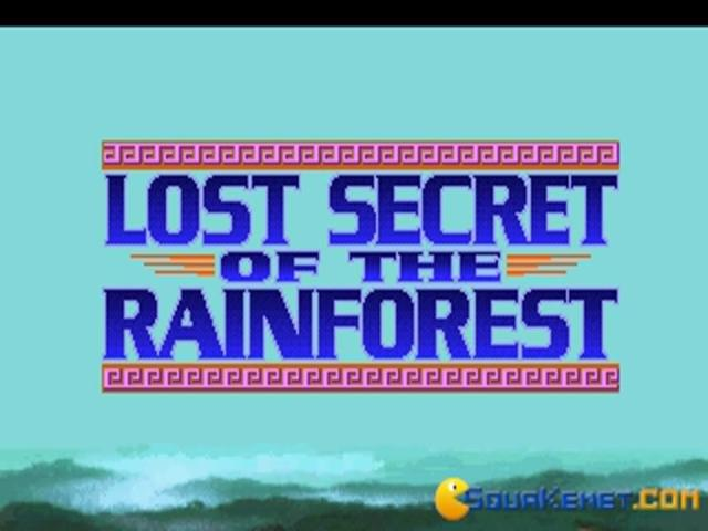 Ecoquest 2: Lost Secret of Rainforest - title cover