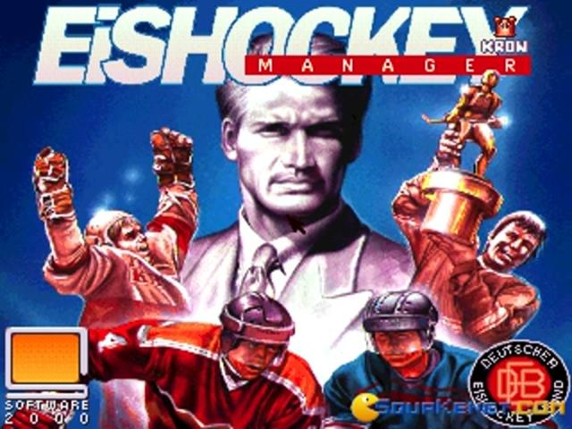Eishockey Manager - game cover