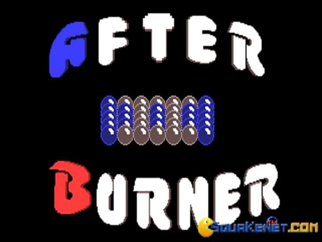 Afterburner - title cover