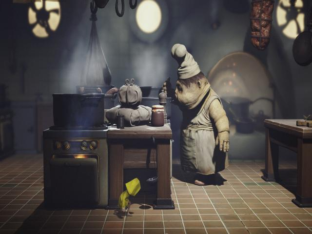 Little Nightmares - title cover