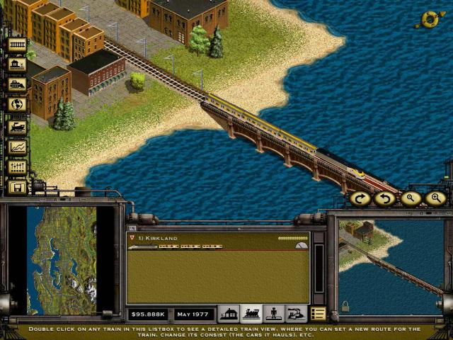 Railroad Tycoon 2 Platinum - game cover