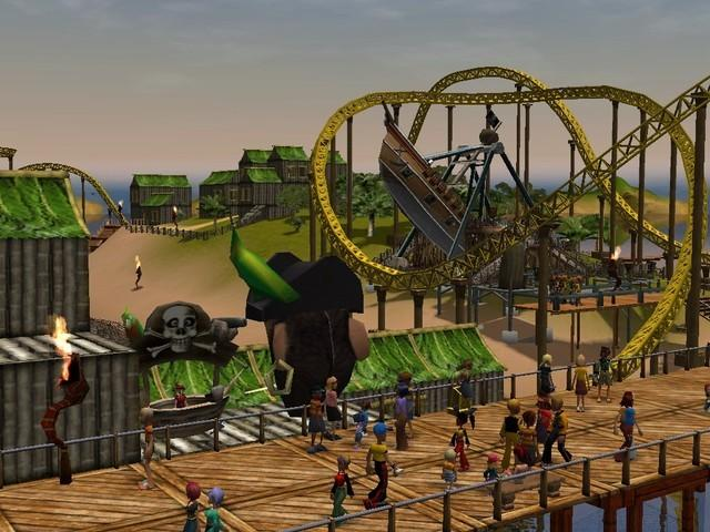 RollerCoaster Tycoon 3 Platinum - game cover