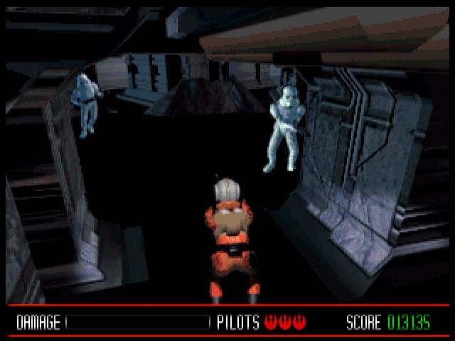 Star Wars: Rebel Assault I + II - game cover