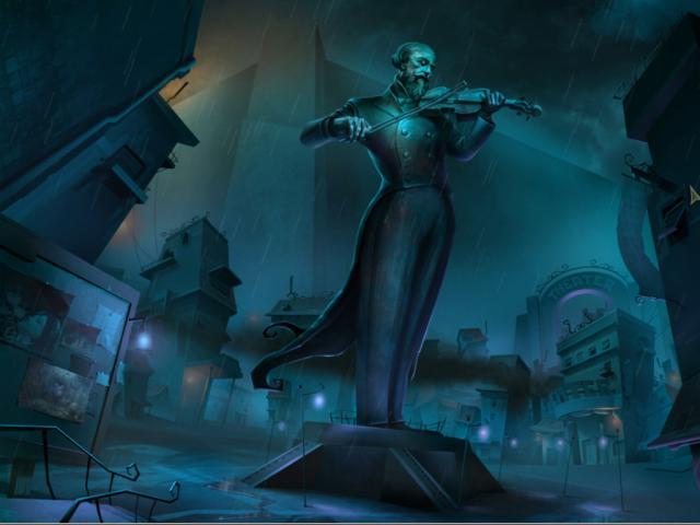 Drawn: Dark Flight - title cover