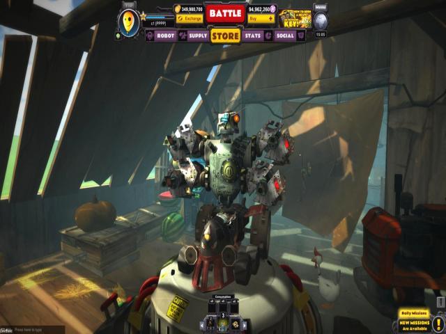 Guns & Robots - title cover