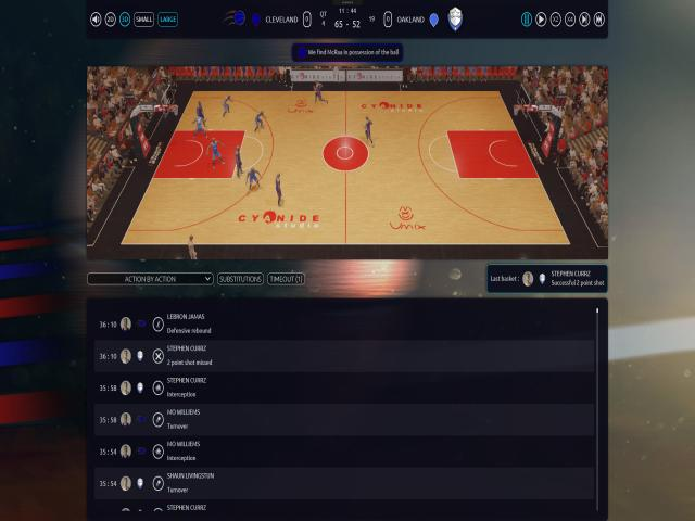 Pro Basketball Manager 2017 - title cover