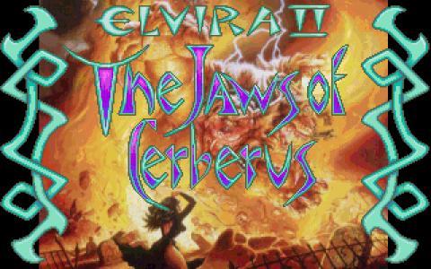 Elvira 2 - title cover