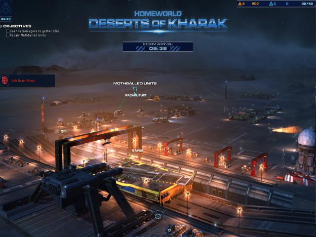 Homeworld Deserts of Kharak - title cover
