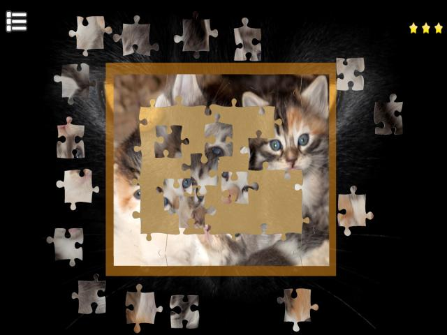 Kitty Cat: Jigsaw Puzzles - title cover